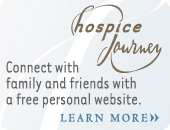 Hospice Journey: Connect with family and friends with a free personal website